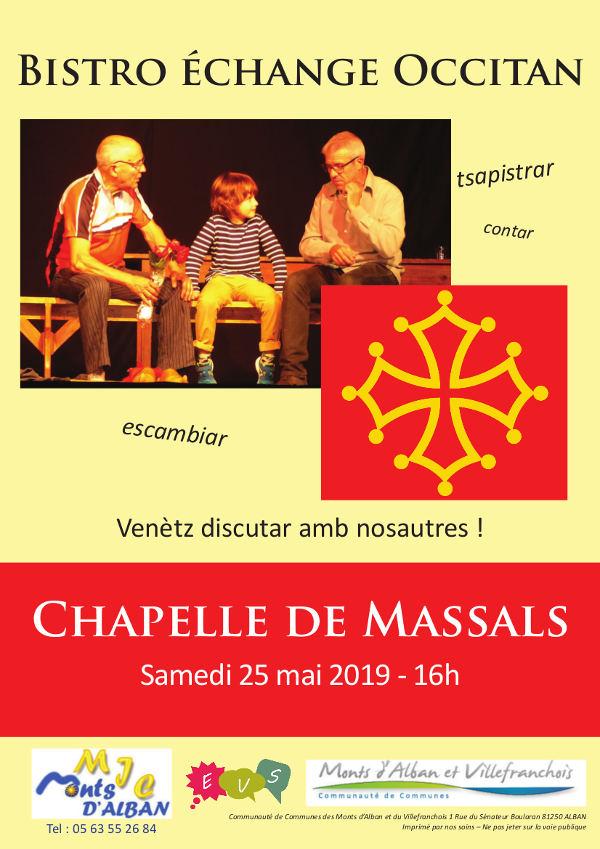 Bistrot-échange en Occitan à Massals