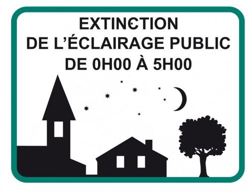 Réunions d'information sur l'extinction de l'éclairage public