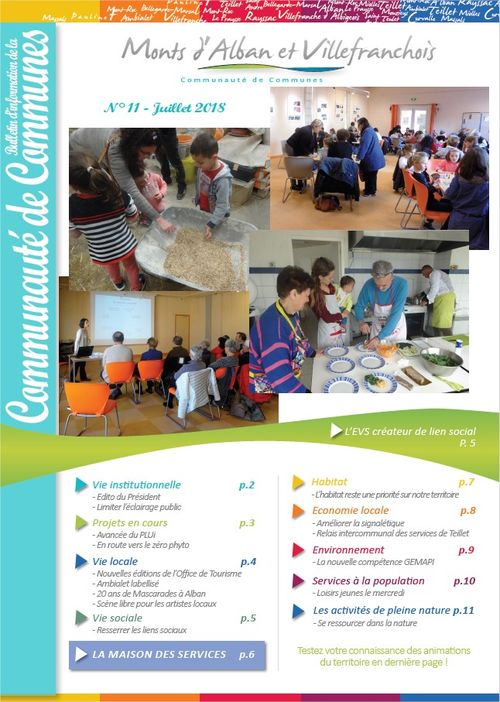 Bulletin intercommunal de juillet 2018
