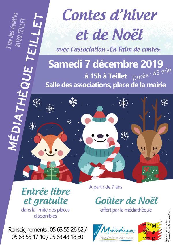 Conte d'Hiver et de Noël à Teillet