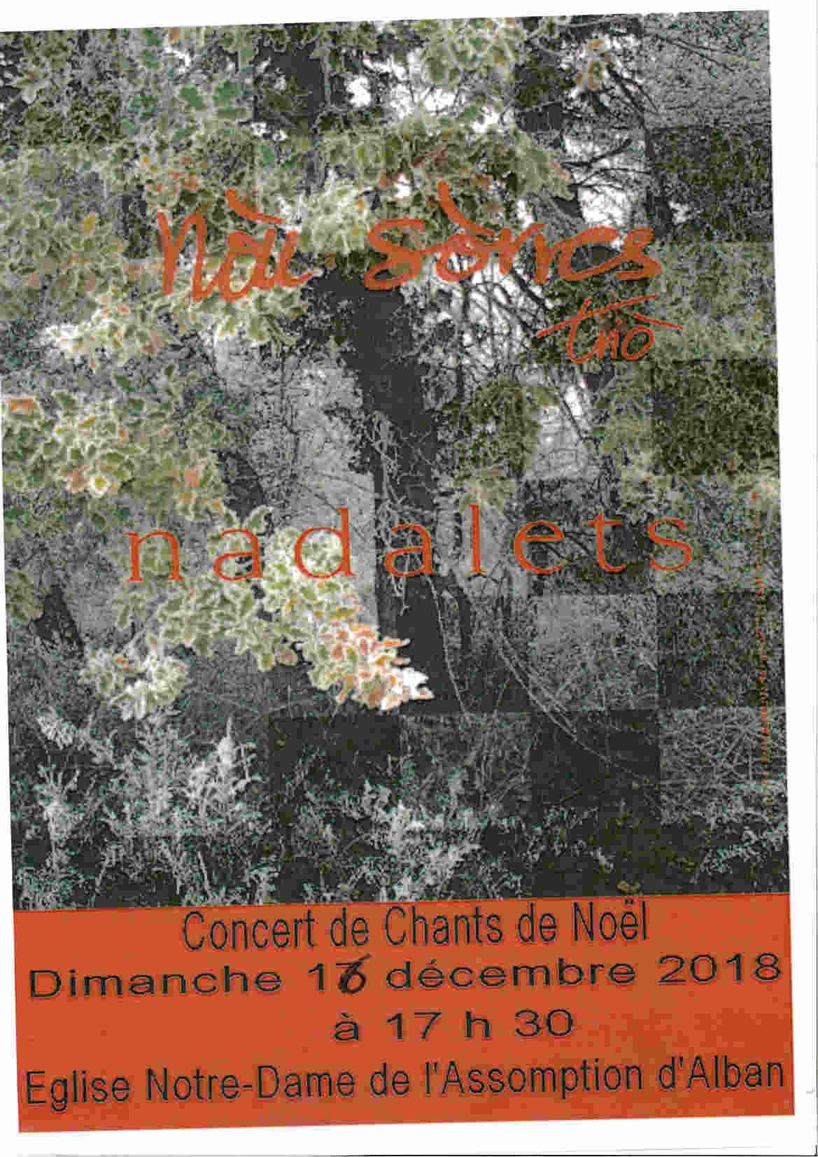 Concert de Noël à Alban
