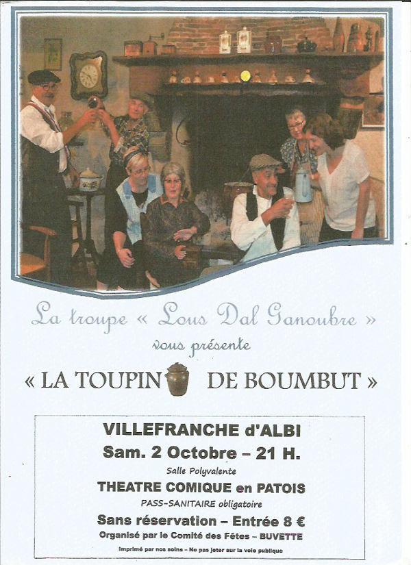 Théâtre occitan à Villefranche d'Albigeois