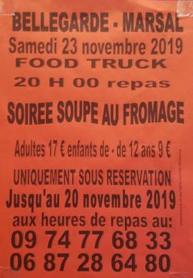 Soirée soupe au fromage à Bellegarde-Marsal