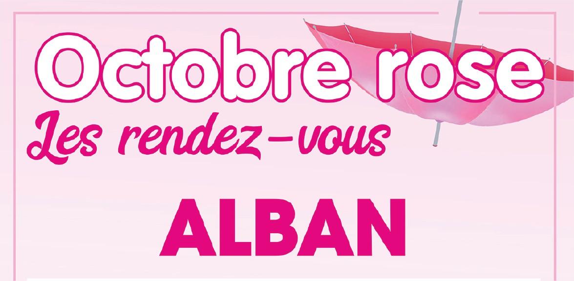 Octobre Rose à Alban 2ème édition