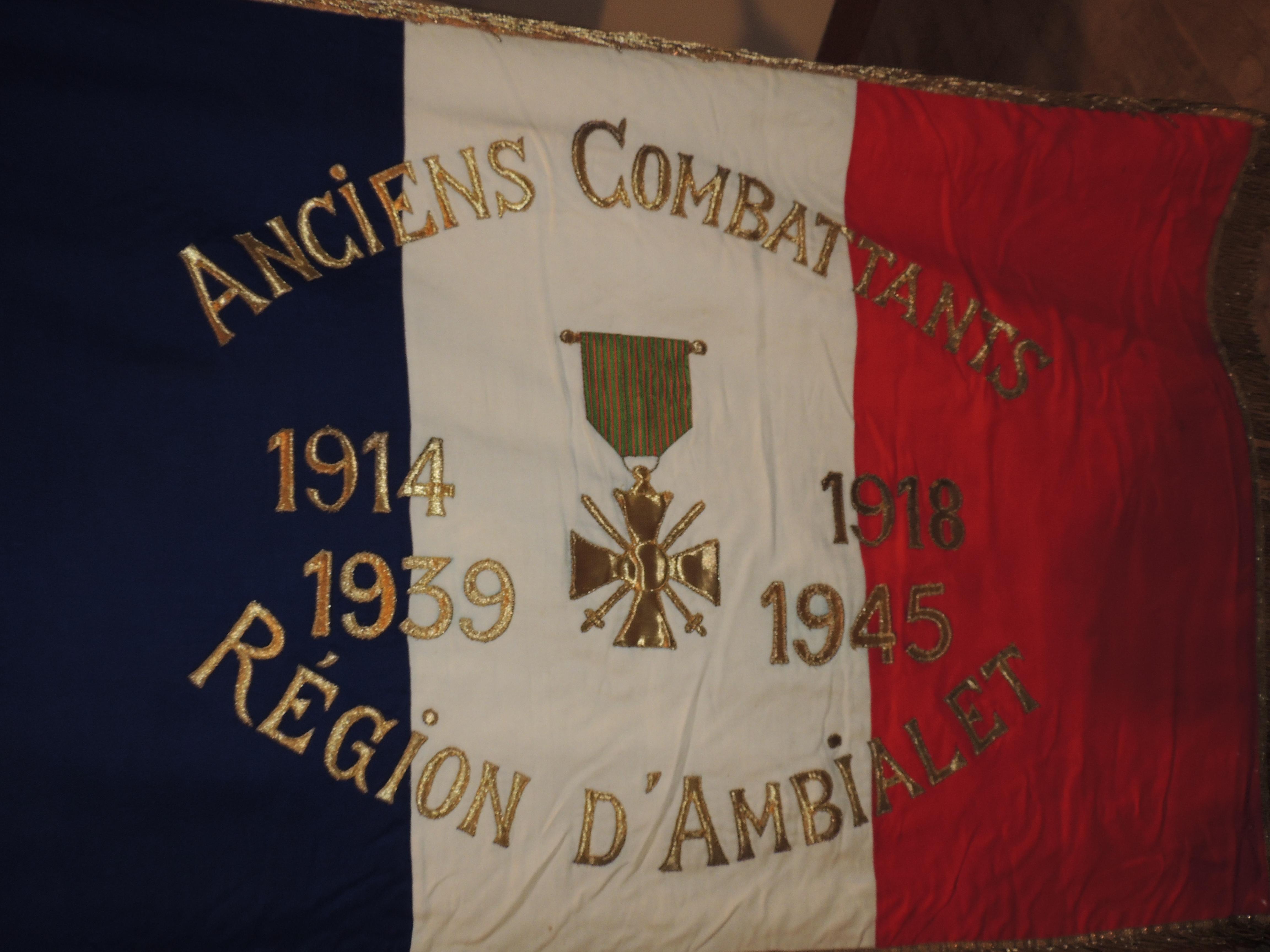 11 novembre 2019 : Commémoration de l'armistice