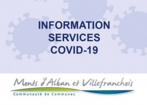 Informations services - COVID-19