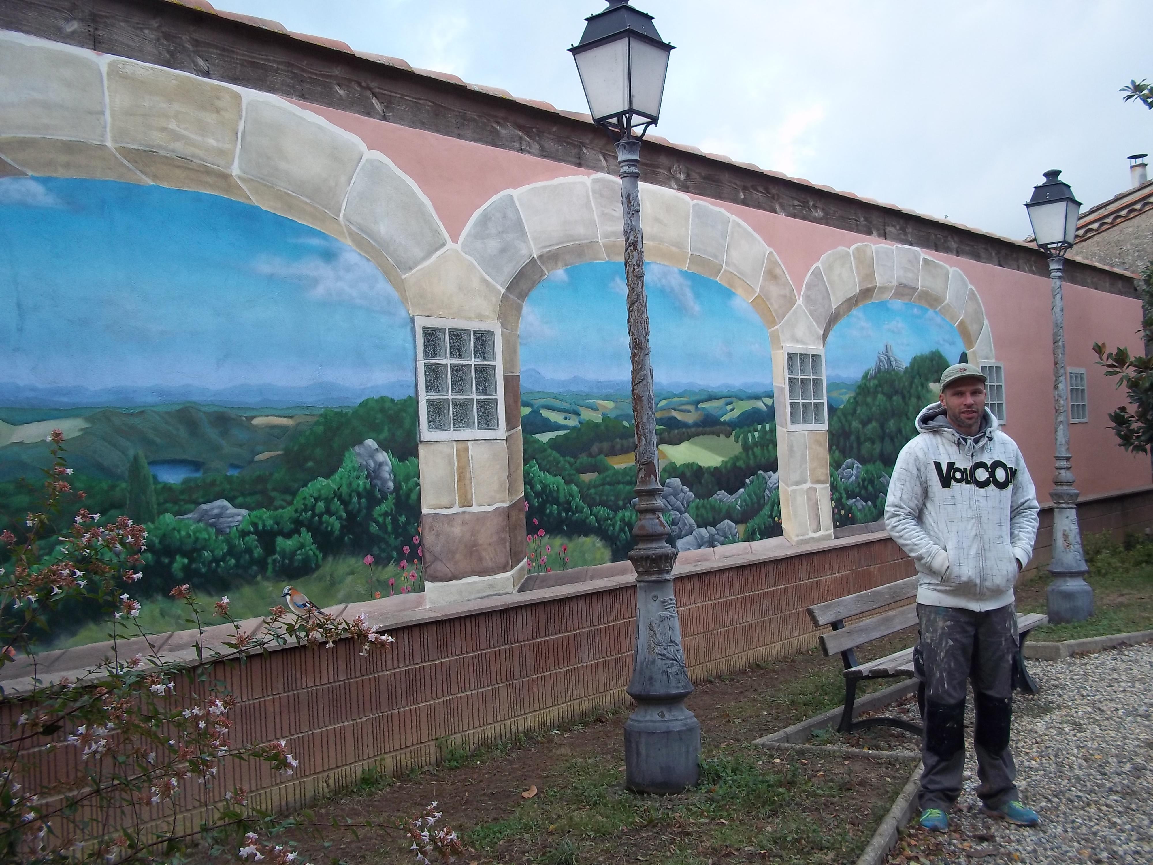 Du street art à Mont-Roc