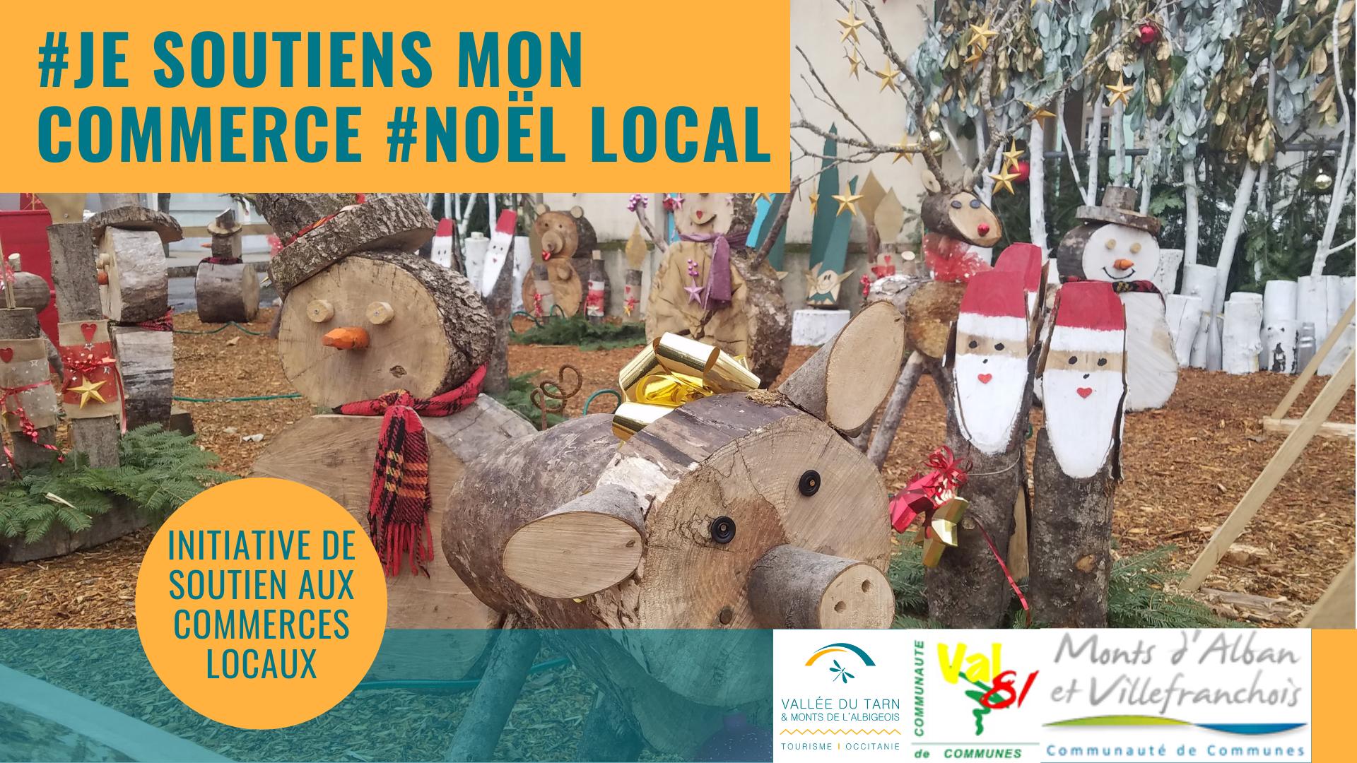 Opération #JeSoutiensMonCommerce #NoëlLocal