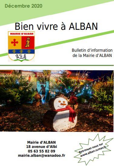 BULLETIN D'INFORMATION DE LA MAIRIE D'ALBAN