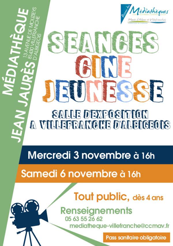Séance ciné jeunesse à Villefranche d'Albigeois
