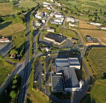 Vue aérienne de la Zone d'Activité du Dolmen à Alban