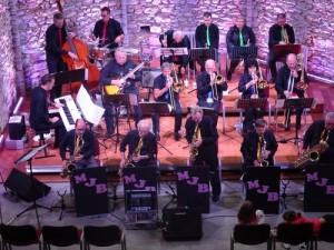 Concert à la chapelle de Massals - Monday Jazz Band - 2016