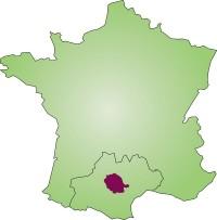 Localisation du département du Tarn en France